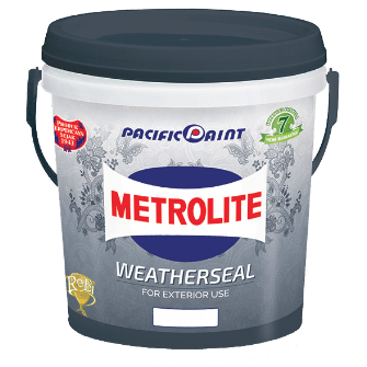 Cat Tembok Metrolite Weatherseal Pail