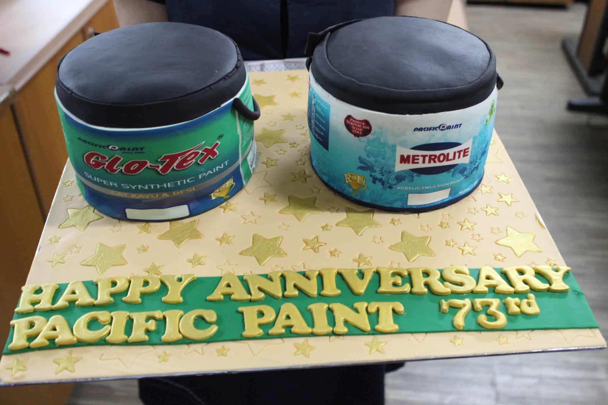 Ulang tahun Pacific Paint
