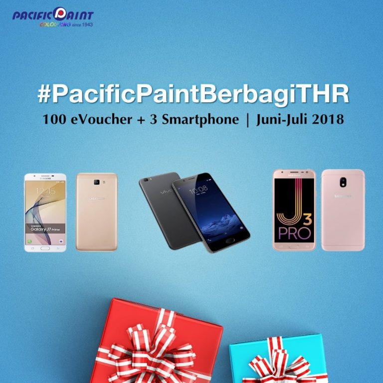 Warna Warni Ramadhan. Pacific Paint Berbagi THR.
