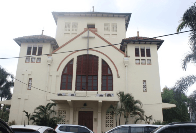 Gereja GPIB Koinonia Jakarta–Repainting