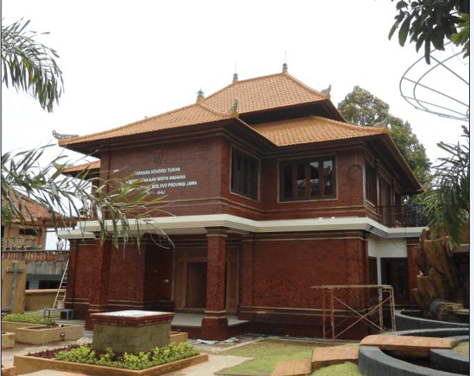 Museum Soeverdi Bali Repainting
