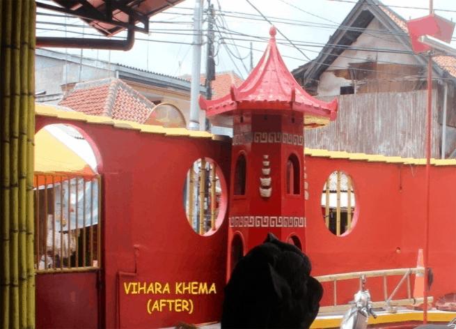 Vihara Khema Jakarta – Repainting