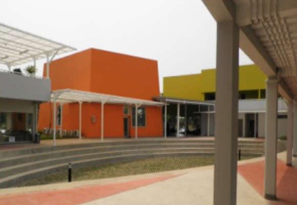 cat tembok sekolah dan kampus