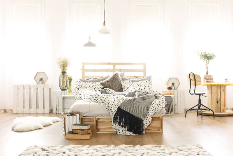krem warna cat tembok kamar tidur