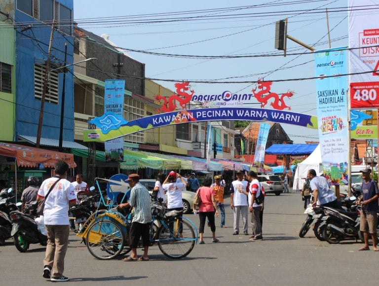 The Colourful of Chinatown Increases Cirebon's Historical Value