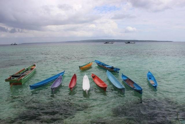 pantai kampung tenun baubau