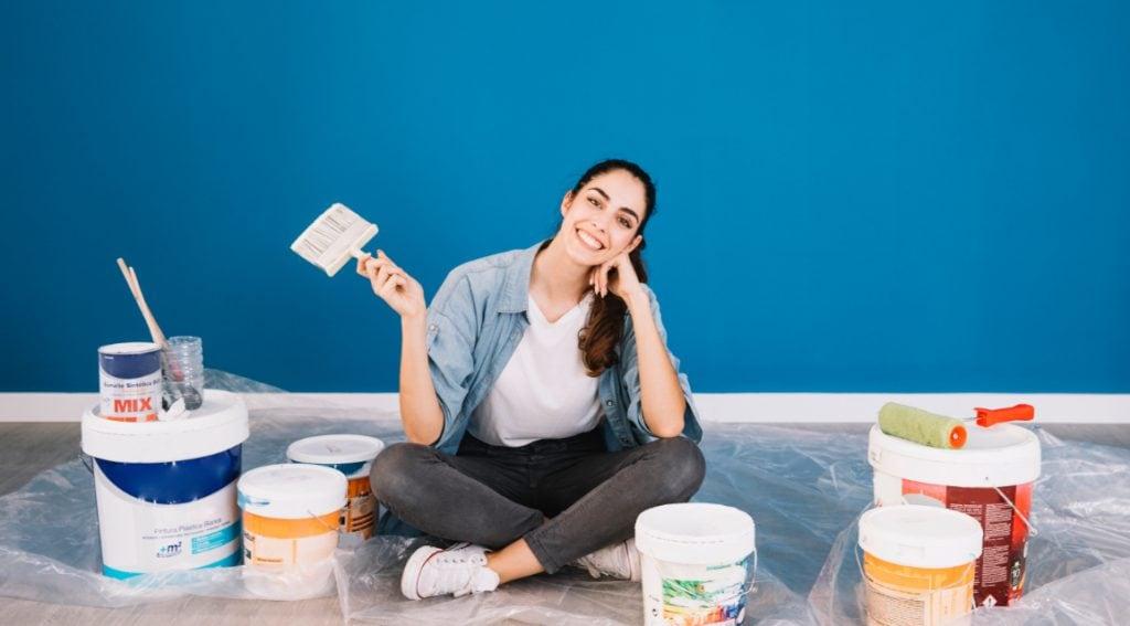 aku bisa cat dinding tanpa tukang