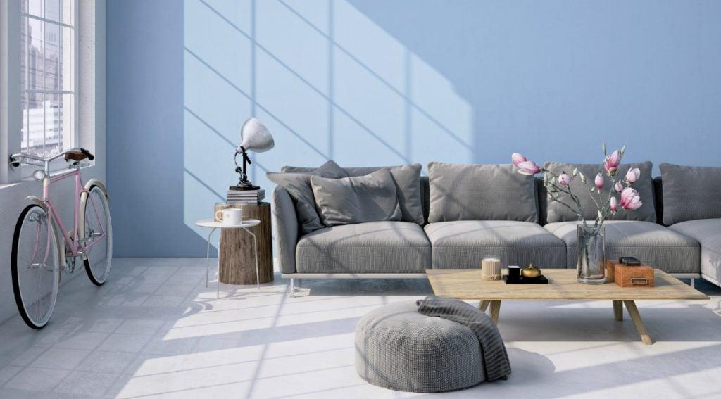 warna cat ruang tamu yang menenangkan