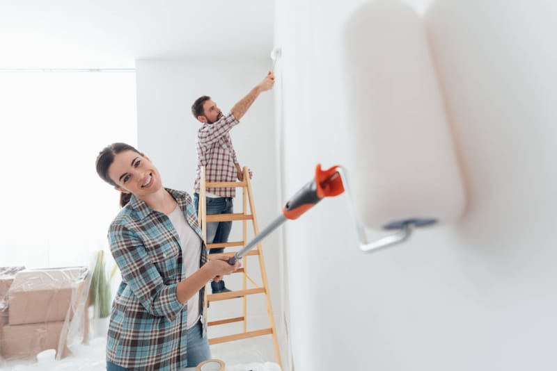 tips memilih cat tembok interior