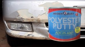 Formula Baru Anti Kerut dan Cepat Kering Pada Dempul Polyester Putty ADC 25
