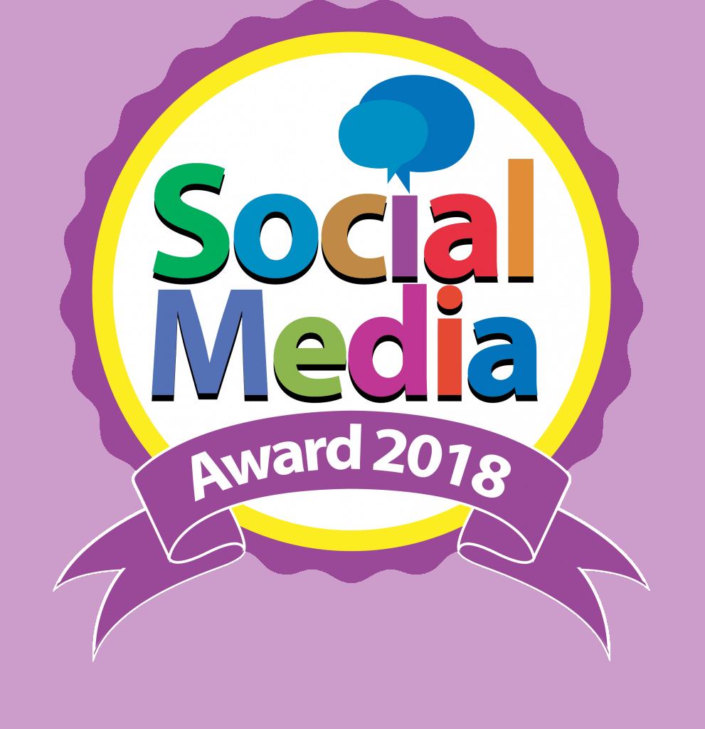 logo social media award 2018