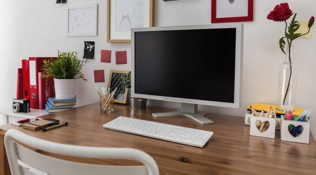 membuat ruang kerja di rumah