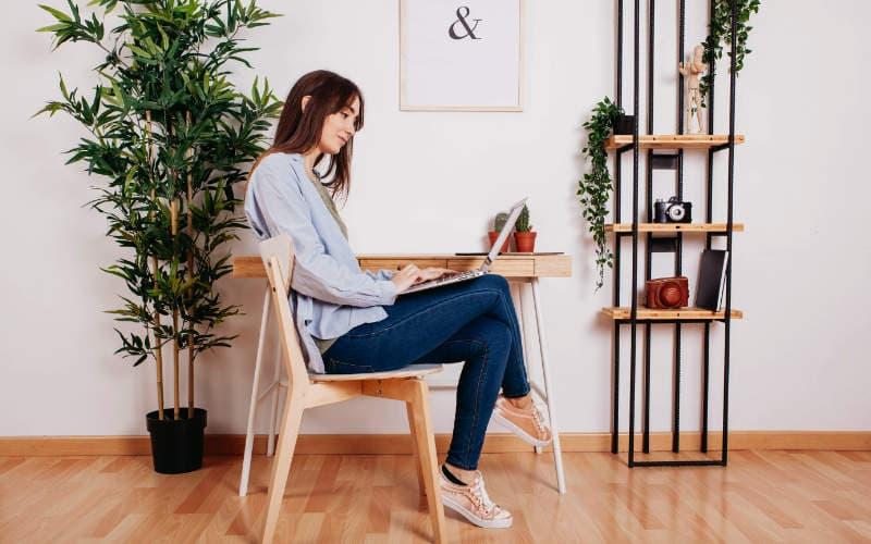 ruang kerja dari rumah