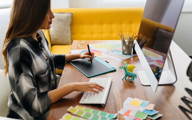 tips ruang kerja di rumah