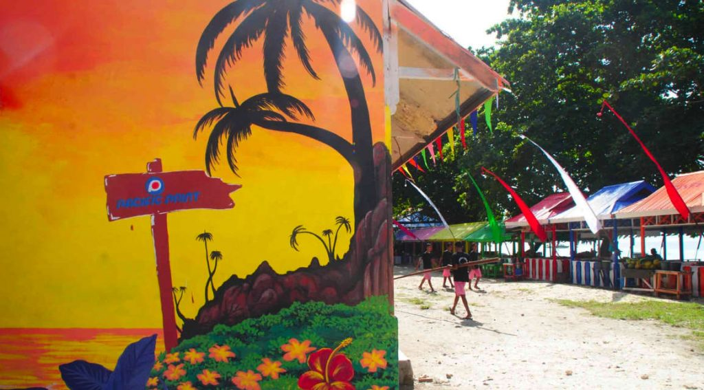 Natsepa Beach - Pantai Warna Warni