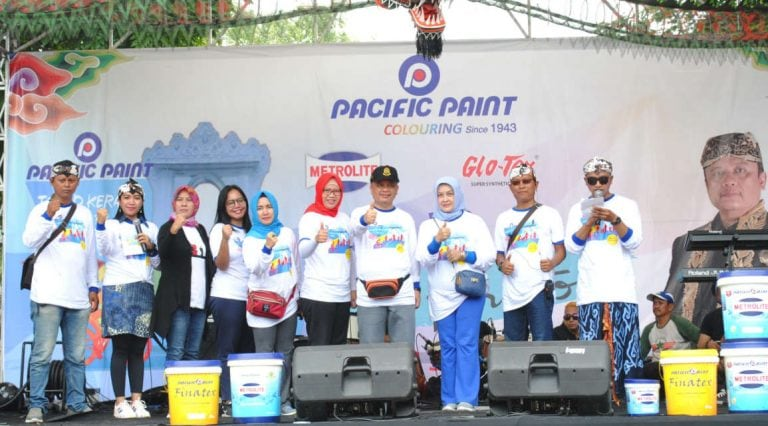 Pacific Paint Tour D'Keraton 2018 Meramaikan Akhir Pekan di Kota Cirebon