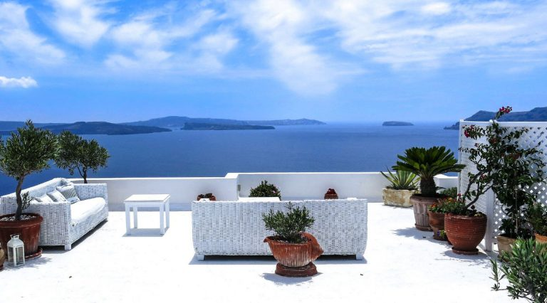 Santorini Theme For Your Home