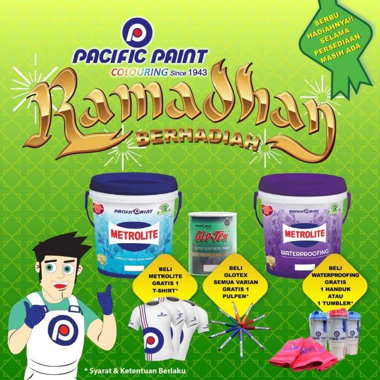 Pacific Paint mengadakan program promo RAMADHAN BERHADIAH