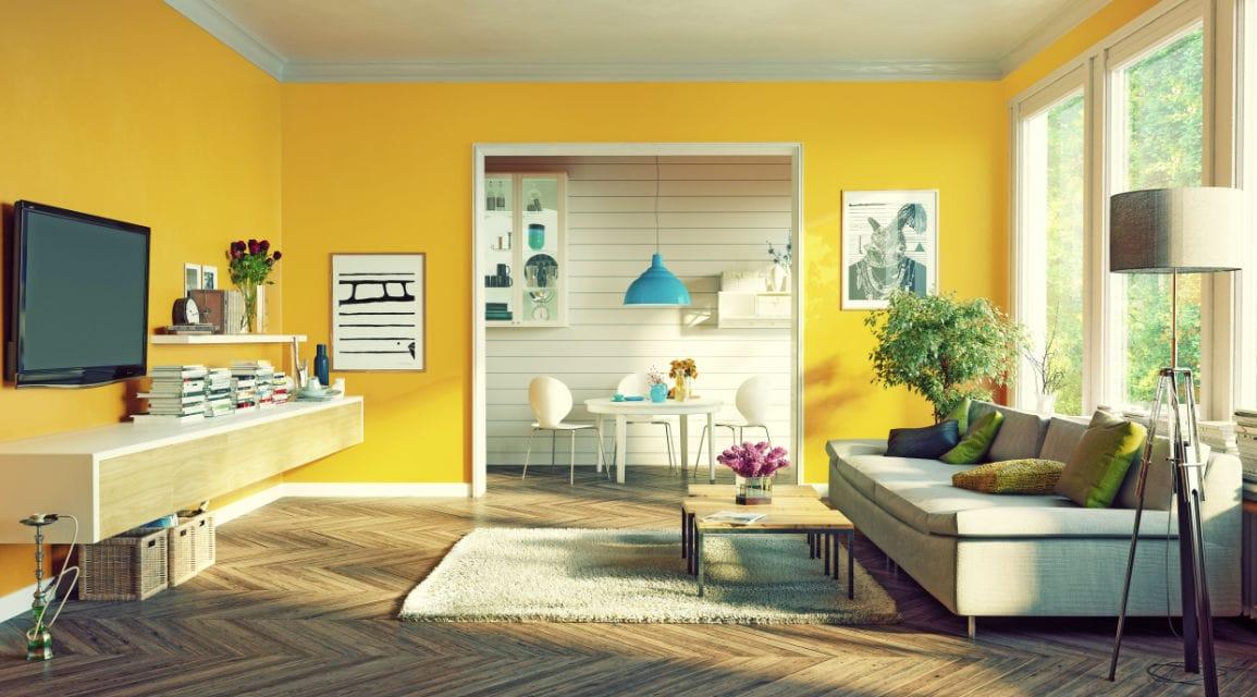 Sentuhan Optimis Warna Kuning untuk Cat Tembok Interior Rumah