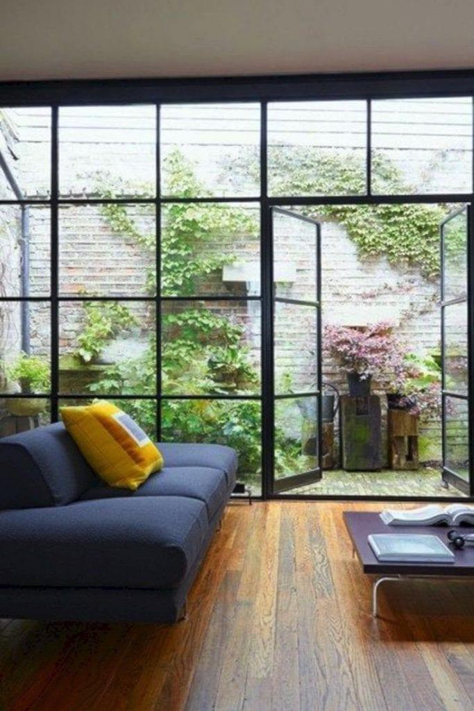 taman kecil rumah minimalis