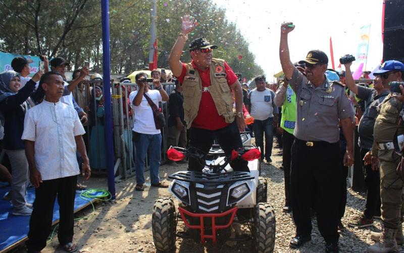 Walikota Peresmian Pantai Muararejo