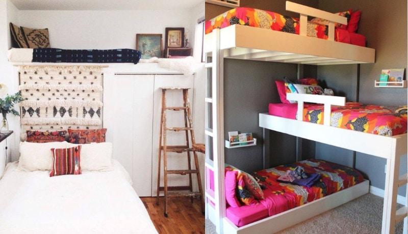optimasi ruang tidur kecil