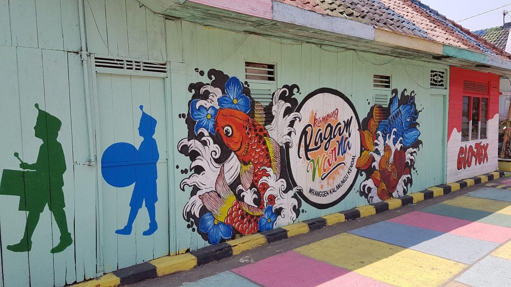 Mural Kampung Ragam Warna