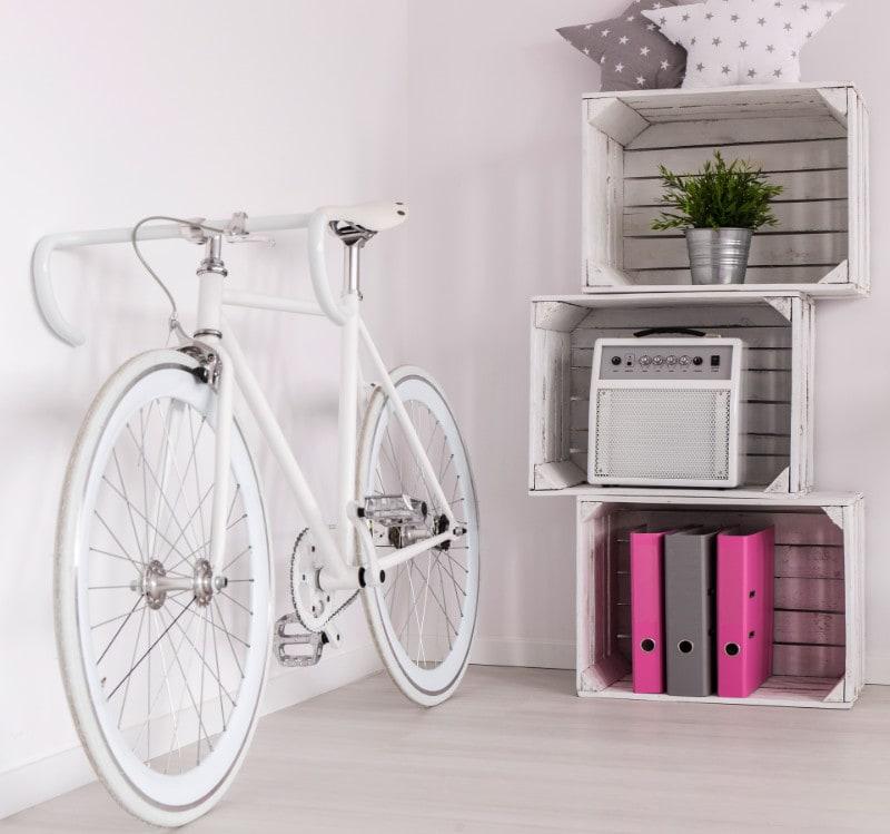 sepeda menguatkan asesoris dekor