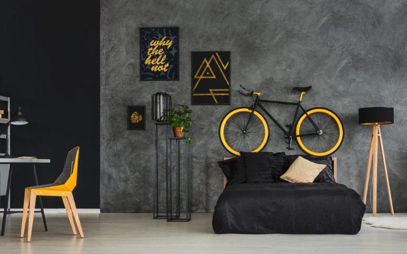 sepeda tempat tidur