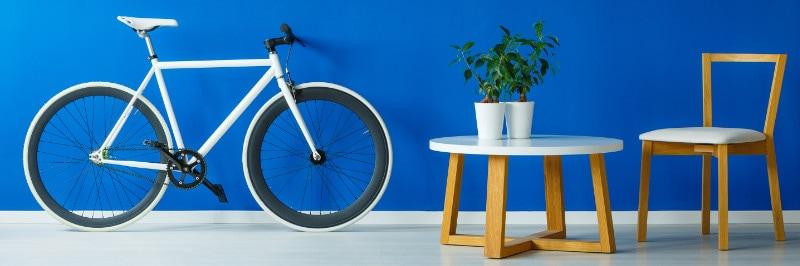 Sepeda sebagai dekorasi