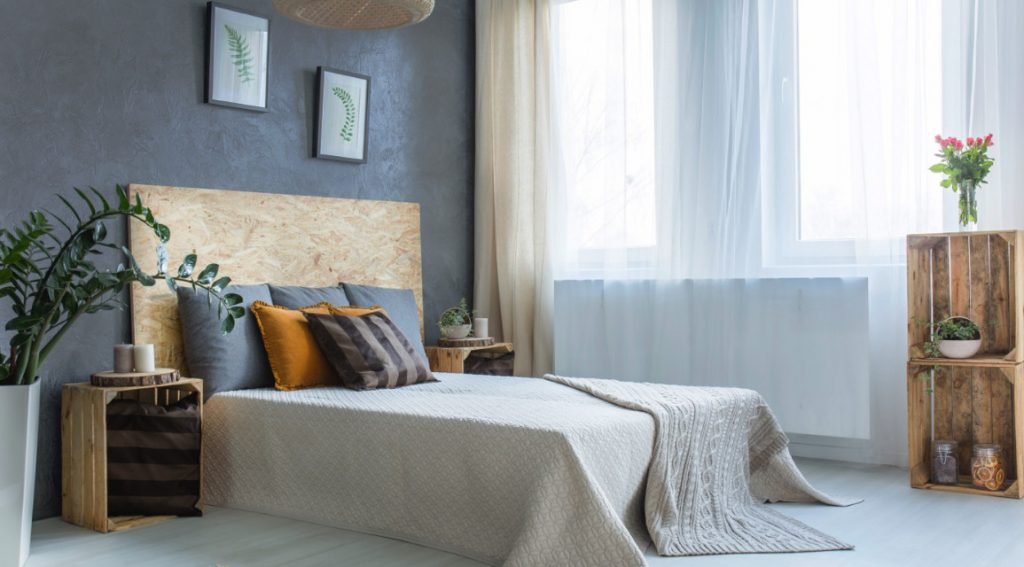 Warna Abu-Abu untuk Kamar Tidur