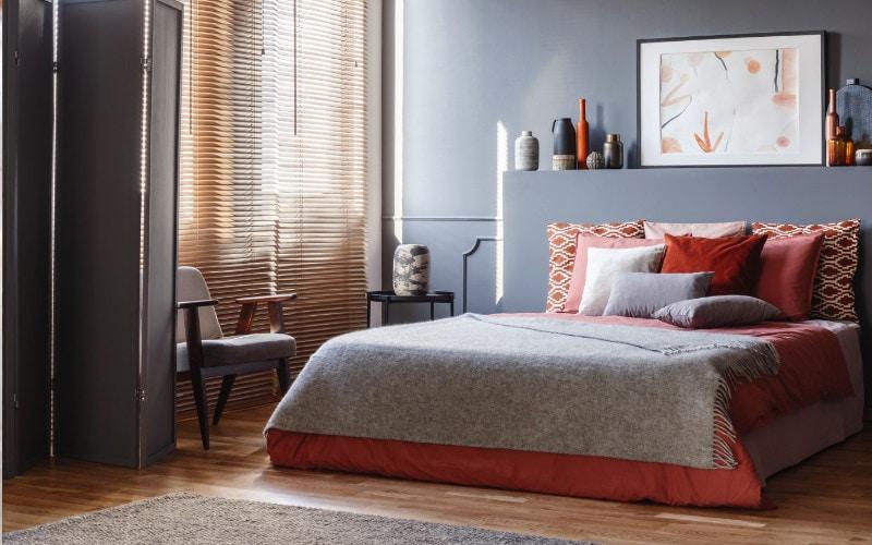 warna bergairah di kamar tidur