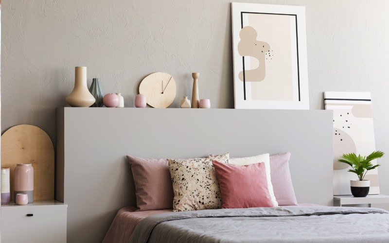 warna lembut kamar tidur