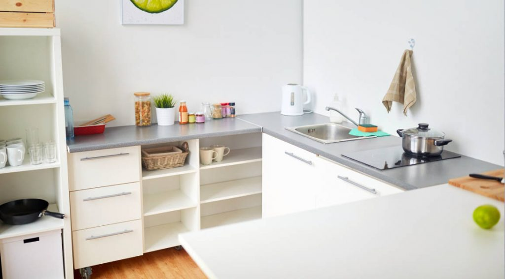 Simple dan Praktis Dapur Minimalis