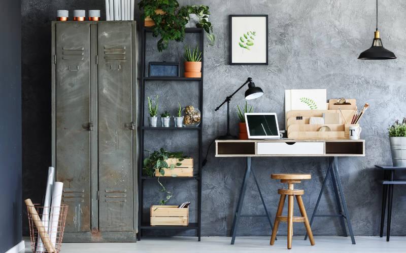 trend rumah industrial desain