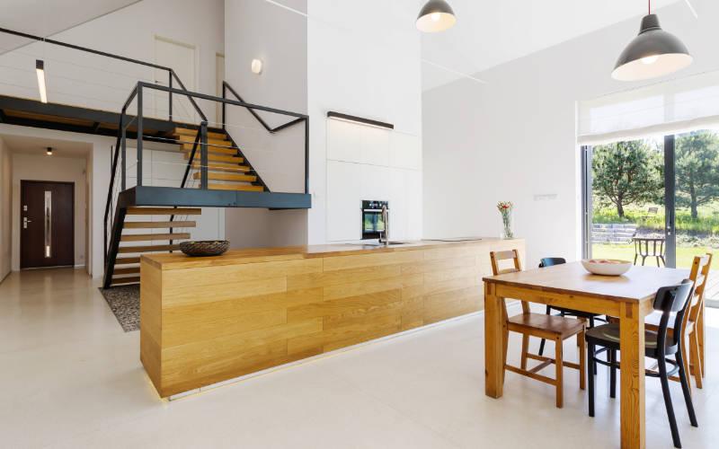 trend rumah industrial kayu