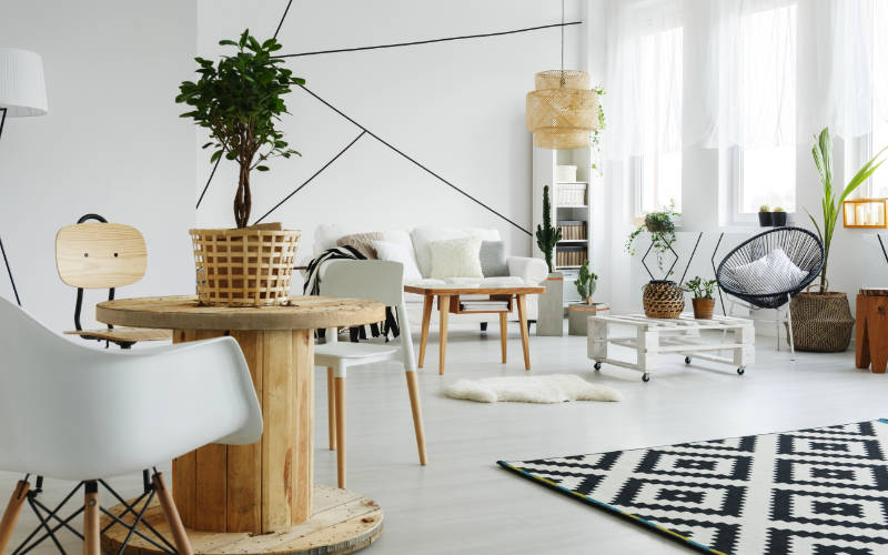 trend rumah scandinavian kayu