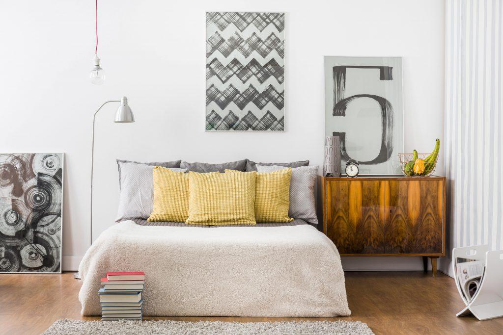 Kamar Tidur Estetik Putih