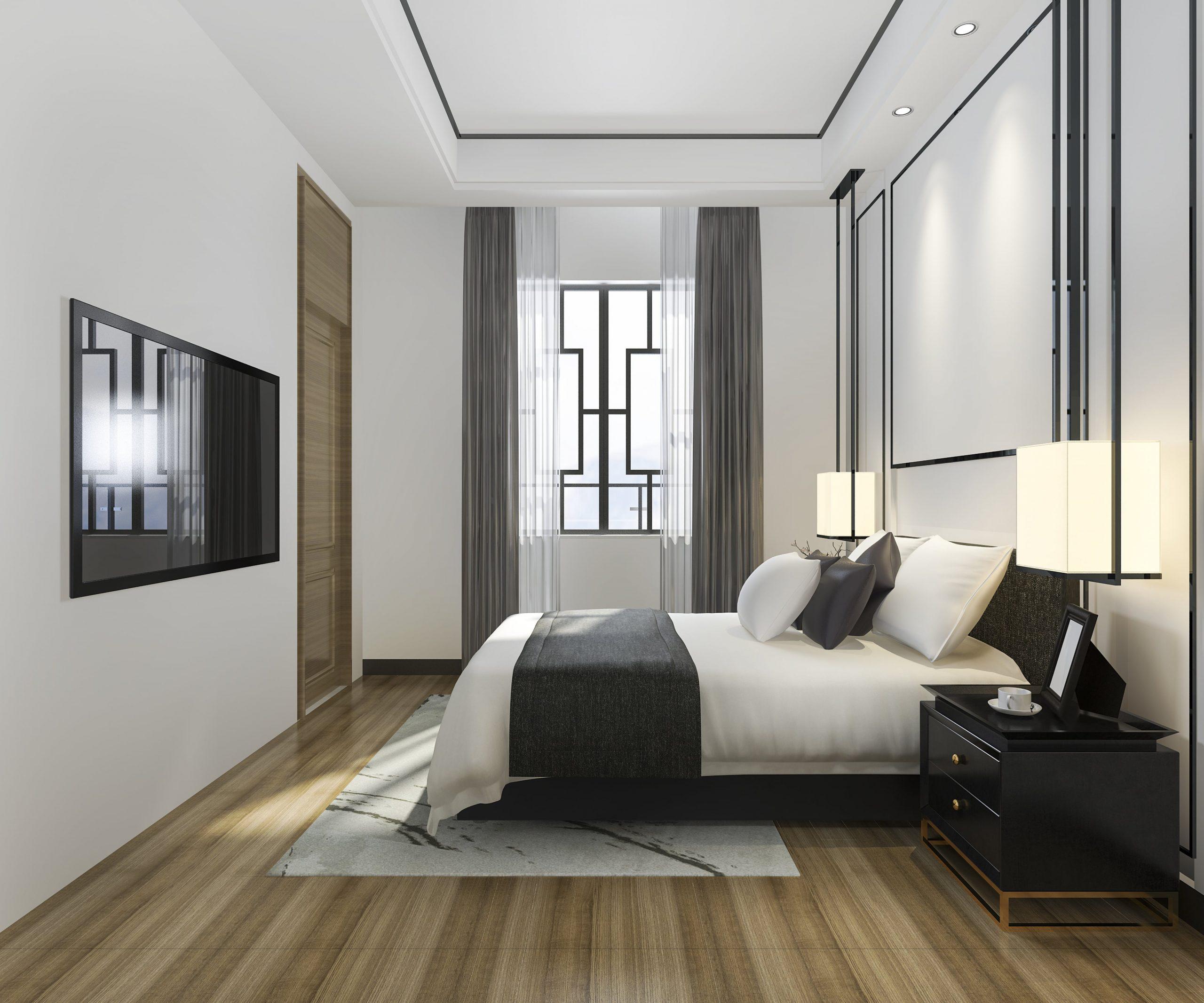 Kamar tidur estetik modern