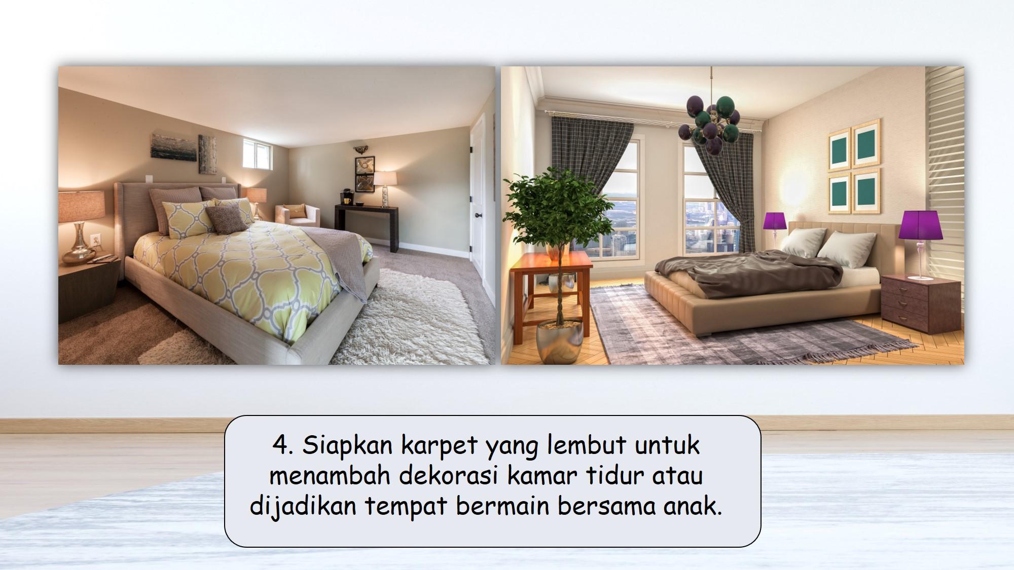 Tips menata kamar agar nyaman rebahan