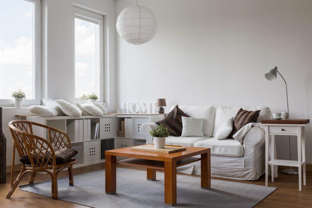 Ruang interior kayu