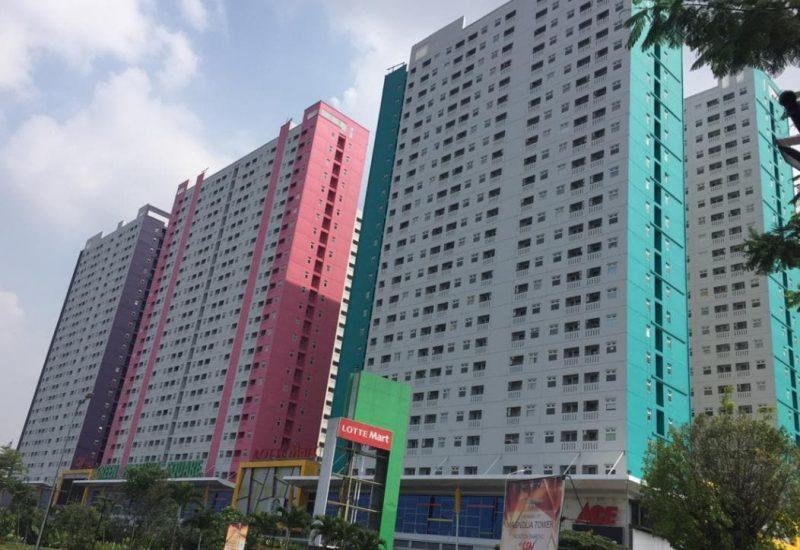 green pramuka apartemen